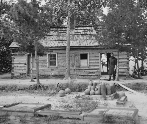 1865 civil war Chaplains quarters