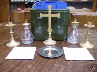 British Chaplain Kit 1950s