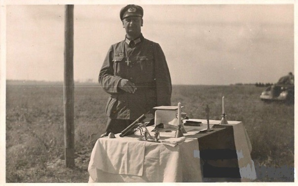WW2 German Field Altar