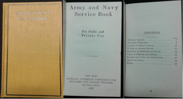 Army and Navy Service Book, 1918