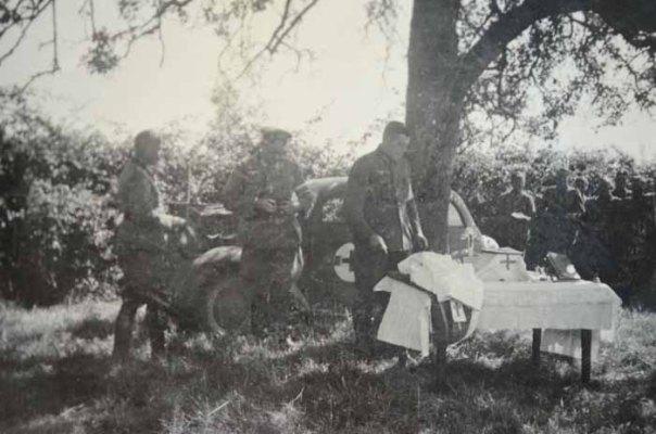 WW2 German Chaplain Field Altar