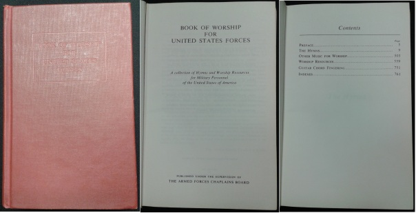 Book of Worship for U.S. Forces, 1974