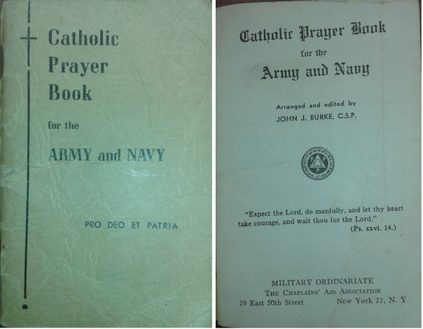 Catholic Prayer Book-Army-Navy