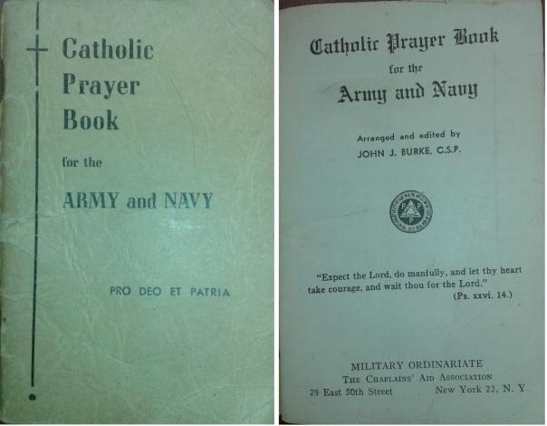 Catholic Prayer Book-Army-Navy