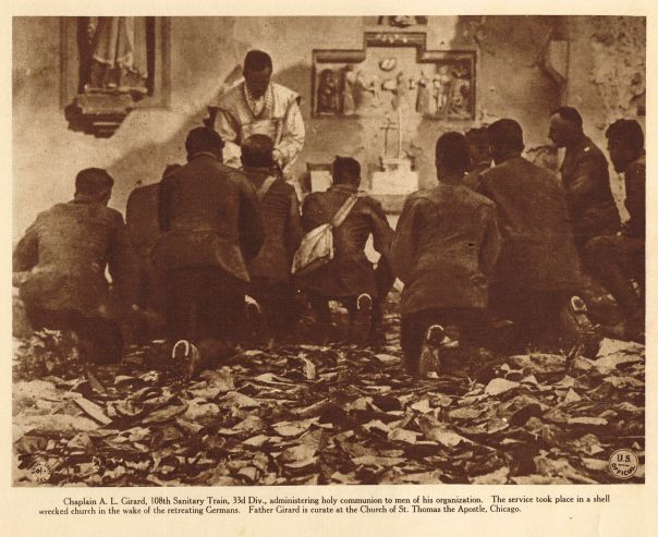 Chaplain AL Girard-WW1-printed 1920
