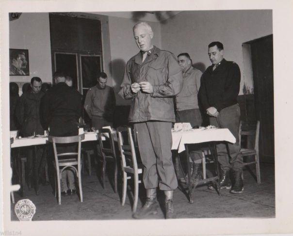 Chaplain F. McDonald 1944