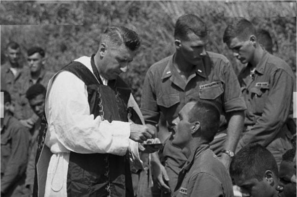 Chaplain John O'Conner