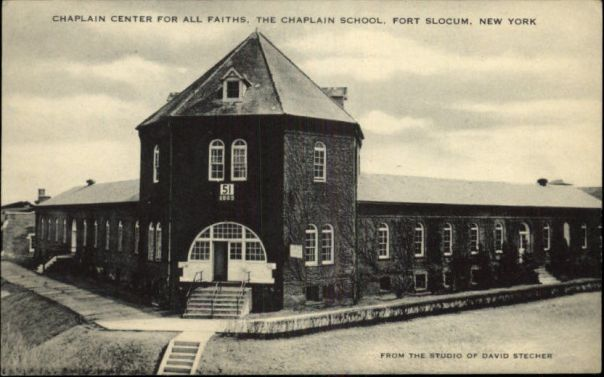 Chaplain School-Ft Slocum NY