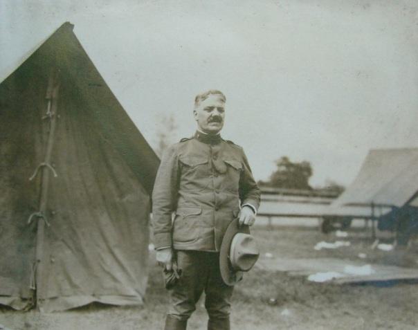 Chaplain, Camp Hancock