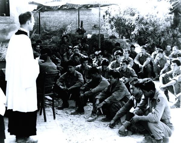 Chaplain Israel Yost