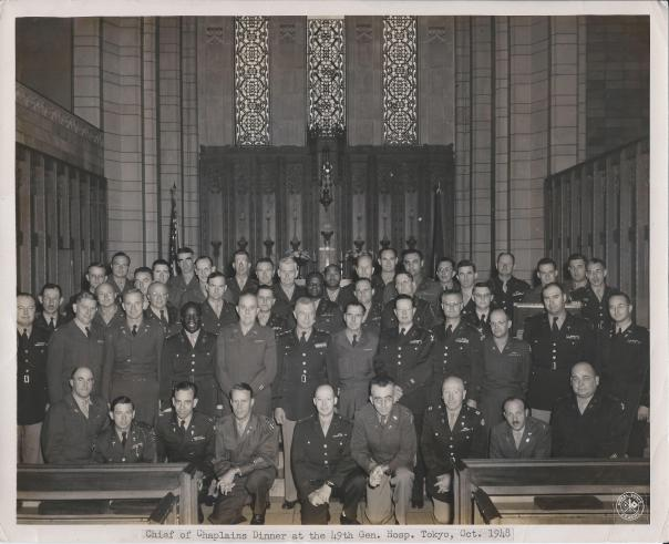 Chaplains Association Meeting, 1948, Japan