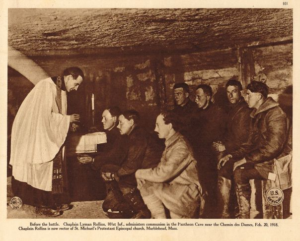 Chaplain Lyman Rollins