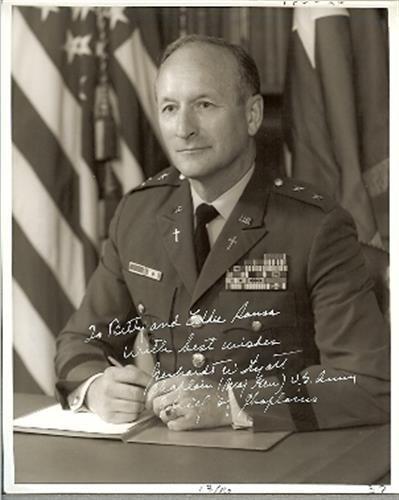 Chaplain Gerhardt Hyatt