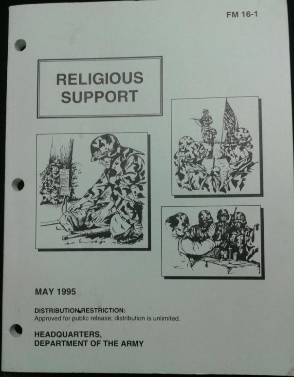 FM 16-1 Religious Support, 1995