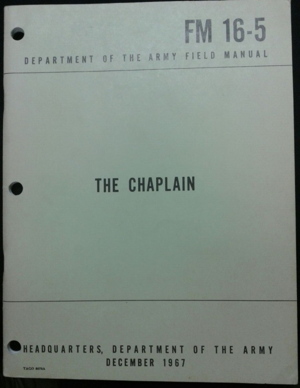 FM 16-5 The Chaplain, 1967