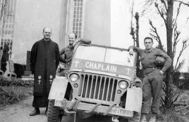 Chaplain Frank Arnold