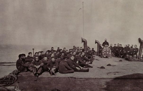 Civil War Navy Worship Service