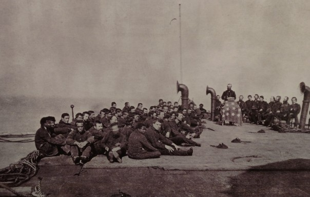 Civil War Navy Worship Service