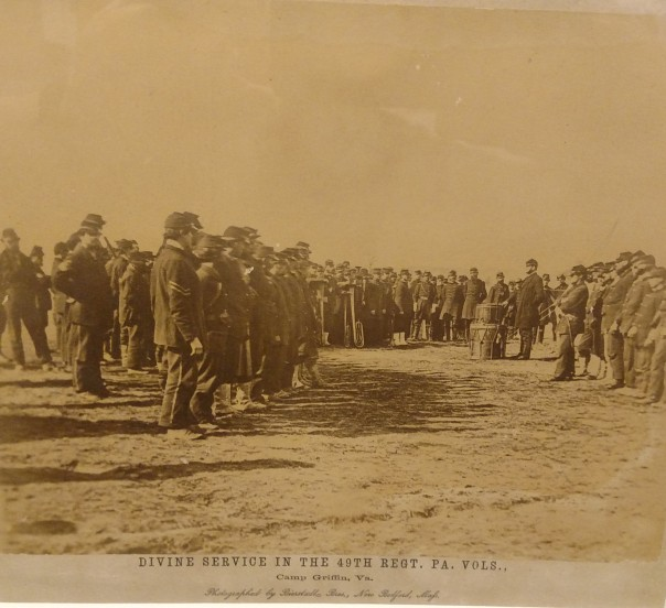 49th Regiment, PA Volunteers Worship