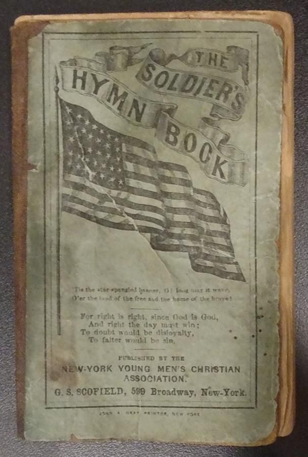 Civil War Soldier's Hymn Book