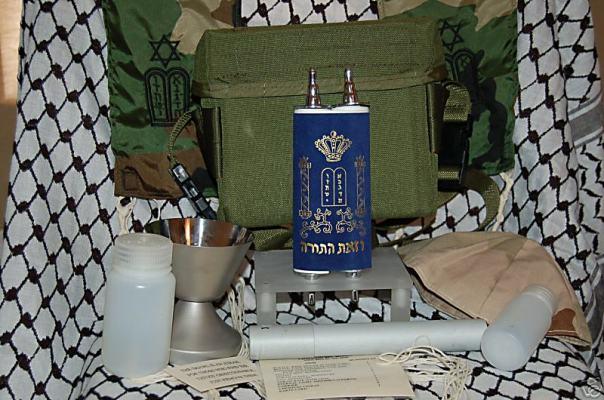 Jewish chaplain kit
