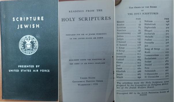 Jewish Scripture 1955