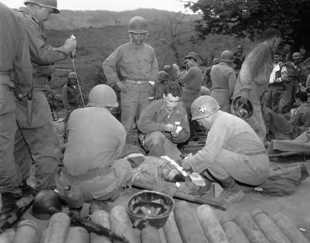 Korean War UNATS Wounded