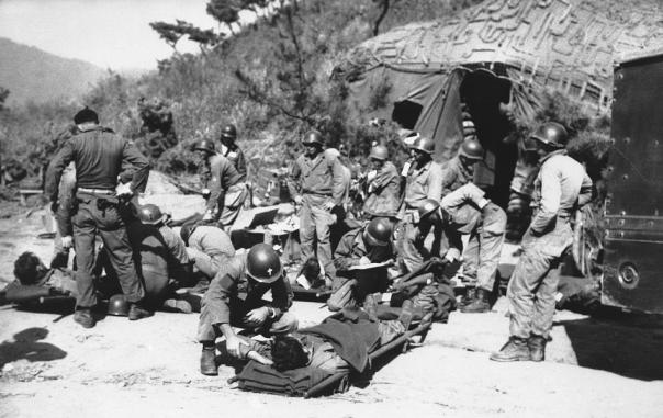 Army chaplain Korean War
