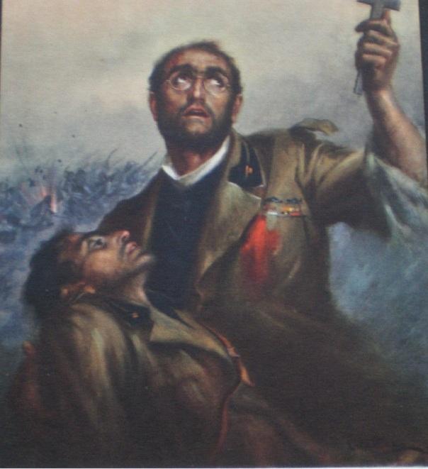Italian Chaplain in Italian Eritrea in 1936