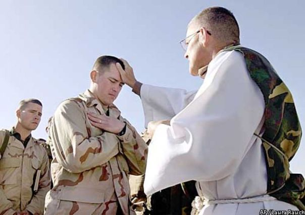 OIF Chaplain Bill Devine
