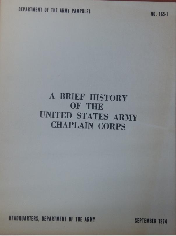 PAM-165-1-History-Chaplain-Corps
