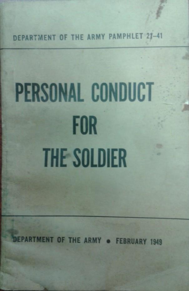 DA Pamphlet 21-41, 1949