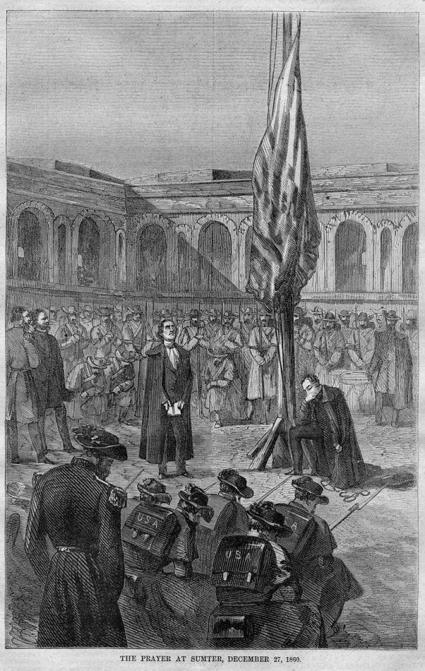 Prayer at Fort Sumter
