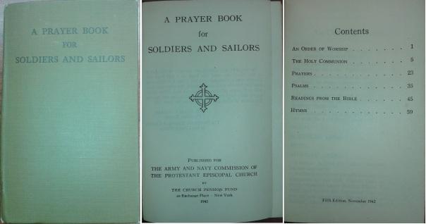 Prayer Book-Soldiers-Sailors-1942