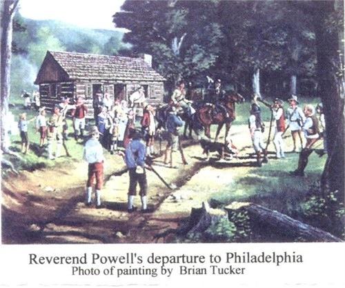Chaplain Joseph Powell