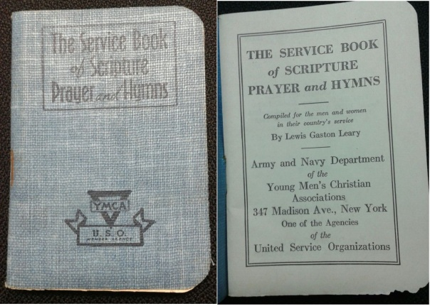Service Book of Scripture, Prayer and Hymns, 1941