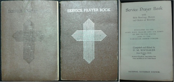 Service Prayer Book, 1940