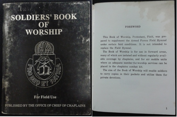 Soldiers' Book of Worship-1993