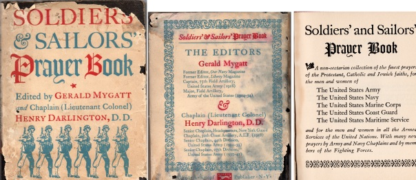 Soldiers and Sailors Prayer Book