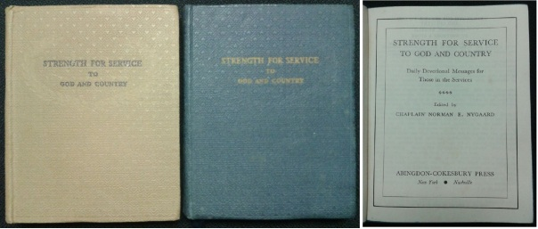 Strength for Service to God and Country, 1942