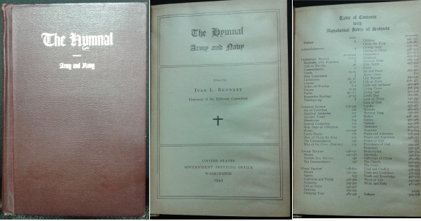 The Hymnal: Army and Navy, Copyright 1941 by A. S. Barnes and Company, Incorporated.