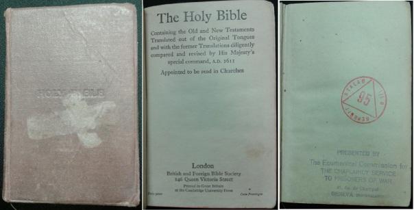 US-German Prisoner of War Bible