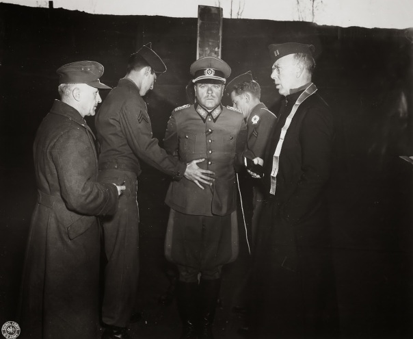 Chaplain with General Anton Dostler