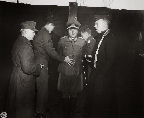Chaplain with General Anton Dostler