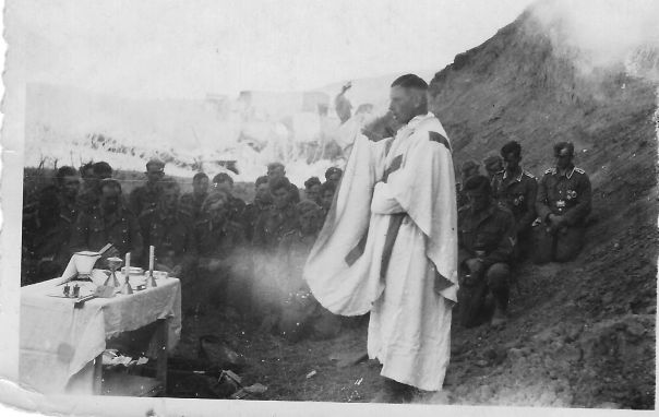 WW2 German Chaplain Worship Service