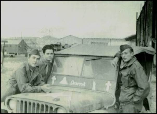 WW2 LDS Chaplain Jeep