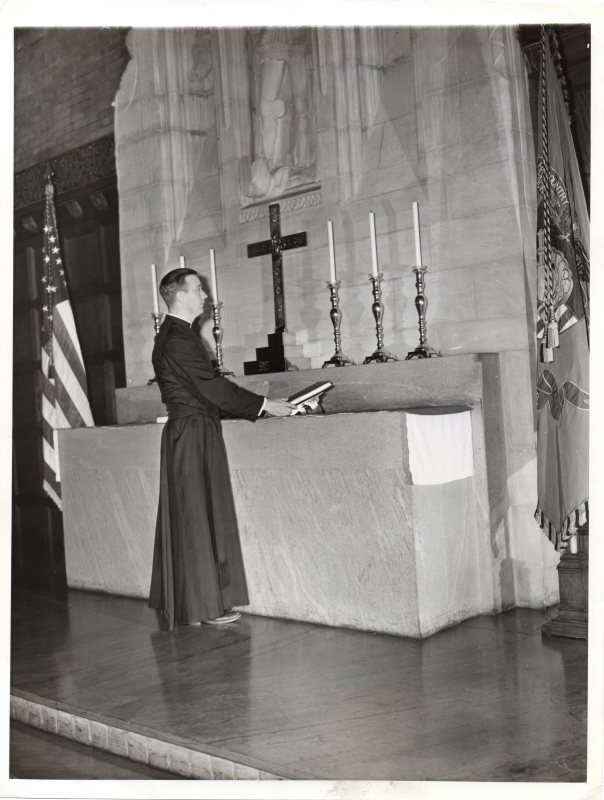 West Point Chapel 1942