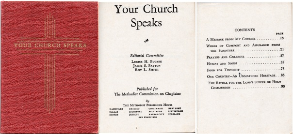 Your Church Speaks, 1942
