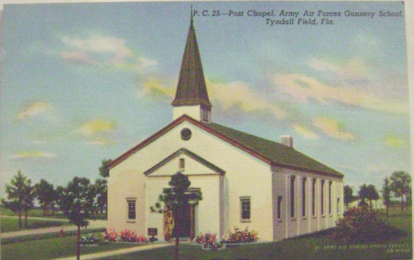 Post Chapel, Army Air Force Gunnery School, Tyndall Field, Florida