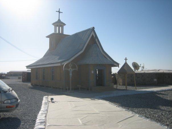 Chapel-Afghanistan-Kandahar-Romanian